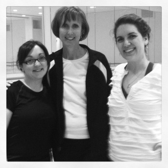 Me with Miss Connie and Nicole! So delightful dancing with them again!