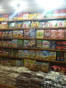 At the grocery store - you can get anything in Kathmandu! I was amazed at the selection!